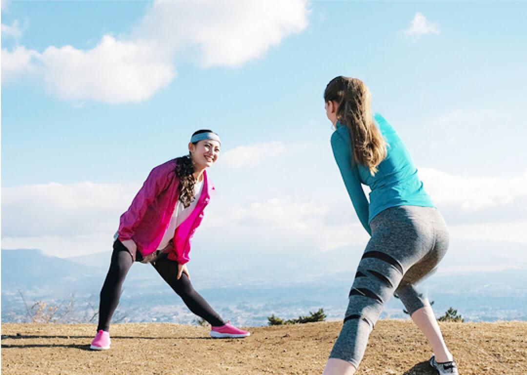 スポーツをする!のイメージ画像