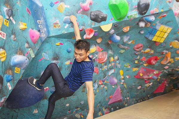 #001 ボルダリング 登れば身体が感じてくれる!初心者でも楽しめるボルダリングのサムネイル画像