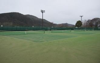 運動公園テニスコートの画像