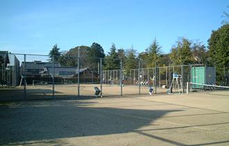 大宝テニスコートの画像