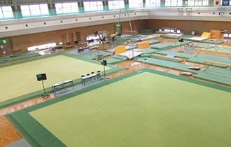 滋賀県立栗東体育館(体操専用)の画像