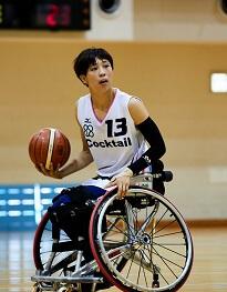車いすバスケットボール 北田 千尋(きただ ちひろ)のサムネイル画像