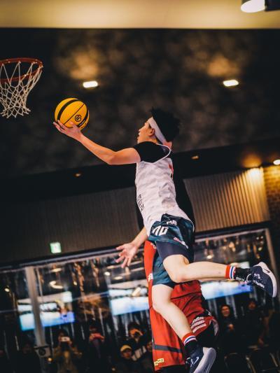 3×3 バスケットボールの画像