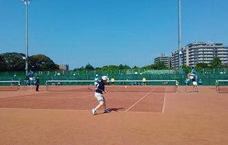 ソフトテニスの画像