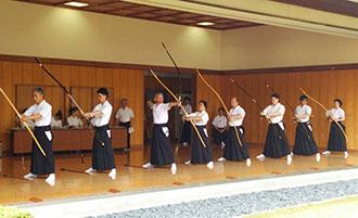弓道の画像