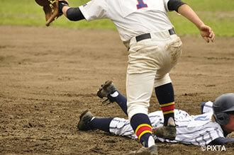 軟式野球の画像
