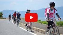 【しがスポーツナビ!】琵琶湖を一周サイクリング!初心者が知っておきたい5つのことの動画のサムネイル画像