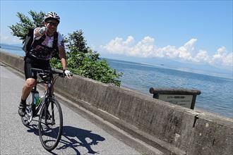 """#008 ビワイチ 自転車で琵琶湖を一周する『ビワイチ』で""""日本一""""のスケールに挑戦!のサムネイル画像"""