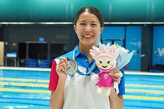 #003 競泳・大橋悠依選手 笑顔の裏に努力あり!滋賀の空を見て泳いだ経験が世界に通じるのサムネイル画像