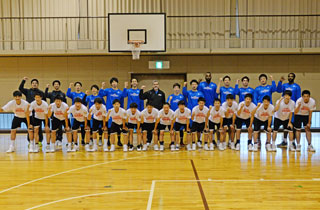 #012 滋賀レイクスターズ×光泉高校男子バスケットボール部のサムネイル画像