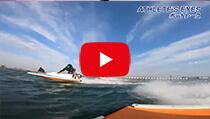 【アスリート目線動画3】ボートレースの迫力をアスリート目線で体験せよ!の動画のサムネイル画像